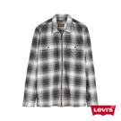 Levis 男款 工裝格紋襯衫 / 滑板系列 / 寬鬆休閒版型 / 拉鍊穿脫