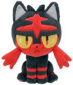 日本 正版 日月版 火焰喵娃娃 貓咪 寶可夢 神奇寶貝 太陽與月亮 19cm【小福部屋】