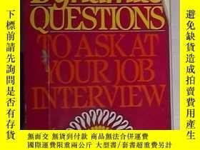 二手書博民逛書店英文原版罕見101 Dynamite Questions to