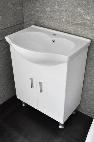 【麗室衛浴】破盤超低價 60公分 D-102 愛心臉盆+浴櫃  只要6500元