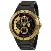 法拉利Ferrari - Red Rev Evo鍍黃金錶殼-830303 跑車腕錶 男錶女錶對錶法拉利手錶經典錶款