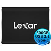 【限時出清 只有一顆】 Lexar Professional SL100 Pro 500GB USB Type-C 外接SSD固態硬碟