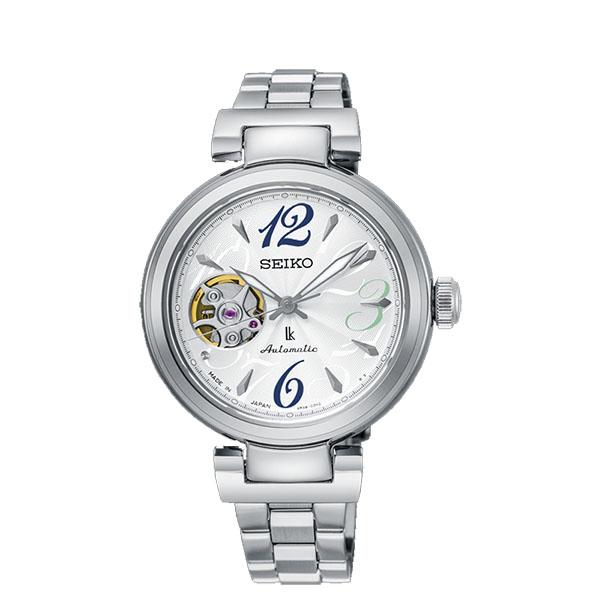 SEIKO LUKIA 新廣告款機械時尚腕錶 4R38-01L0M(SSA807J1)銀