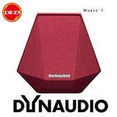 ✿ DYNAUDIO music 1 攜帶式無線智慧喇叭 紅 公司貨