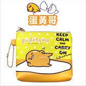 正版 三麗鷗 蛋黃哥 插畫 零錢包 收納包 交換禮物 水玉版