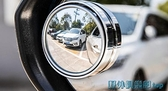 後視鏡 后視鏡小圓鏡汽車倒車反光盲點360度無邊超清輔助鏡盲區廣角可調 快速出貨