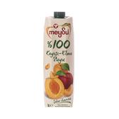土耳其meysu 100%杏桃蘋果汁1L
