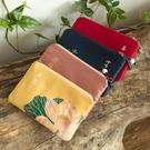 古風零錢包女中國風布藝硬幣小方包迷你卡包零錢袋禪意復古小錢包 完美居家生活館