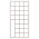 《享亮商城》P-006-2800  28格-比賽用紙   0954