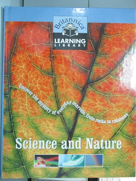 【書寶二手書T4/兒童文學_ZEF】Science and Nature_Learning Library Britan