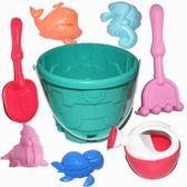 沙灘玩具套裝兒童玩沙挖沙工具鏟子水桶沙漏