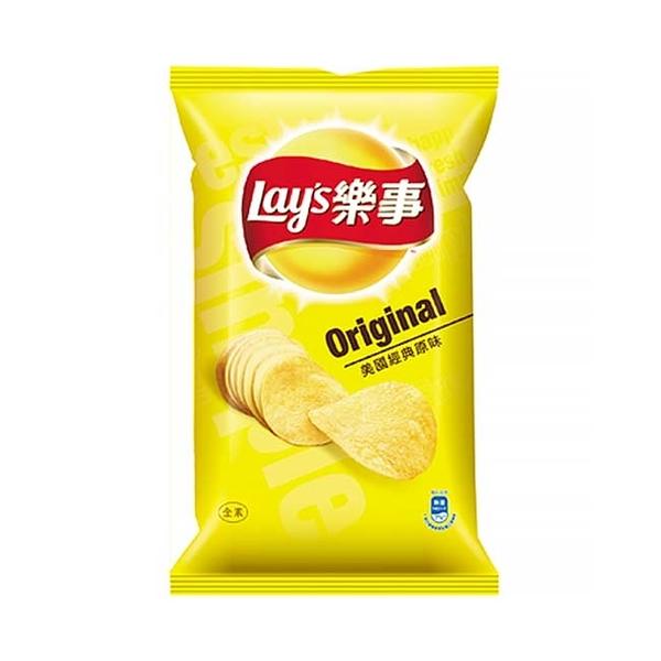 Lay's樂事洋芋片(美國經典原味)75g【寶雅】