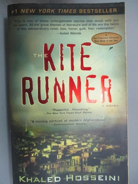 【書寶二手書T1/原文小說_OID】The Kite Runner 追風箏的孩子_精平裝: 平裝本