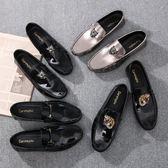 豆豆鞋男2019新款韓版潮流社會小伙男鞋春季休閒皮鞋男百搭懶人鞋 台北日光