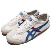 Asics Onitsuka Tiger Mexico 66 Vin 白 藍 紅 經典款 男鞋 女鞋 【PUMP306】 TH2J4L-0142