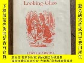 二手書博民逛書店LEWIS罕見CARROLL:THROUGH THE LOOKING-GLASS(精裝帶書衣,JOHN TENNI