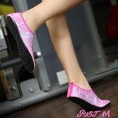 瑜伽鞋健身鞋夏男女專用跳繩瑜伽訓練鞋軟底休閒透氣防滑室內跑步機鞋 JUST M