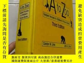 二手書博民逛書店At罕見to Zoo :Subject Access to Ch