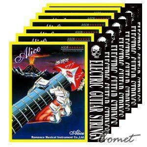 Alice®電吉他第2弦(1套10條)