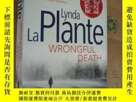 二手書博民逛書店WRONGFUL罕見DEATH (Lynda La Plante