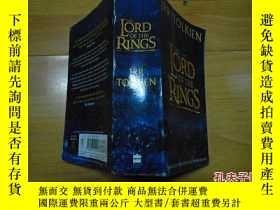 二手書博民逛書店英文原版罕見《指環王》全本 The Lord Of The Ri
