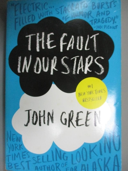 【書寶二手書T7/原文小說_IEL】The Fault in Our Stars_John Green
