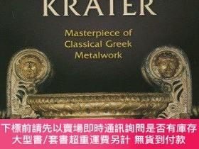 二手書博民逛書店The罕見Derveni Krater: Masterpiece of Classical Greek Metal