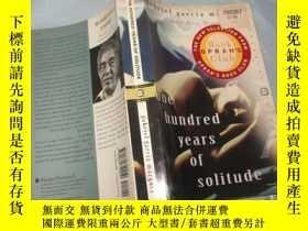二手書博民逛書店One罕見Hundred Years of Solitude(英文原版《 百年孤獨》 大32開458頁 諾獎獲獎作
