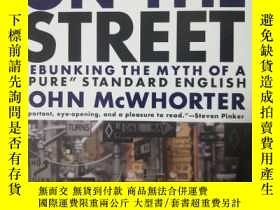 二手書博民逛書店Word罕見On The Street: Debunking T