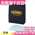 日本 THERMOS 膳魔師 保冷袋 3L 附300g保冷劑 新款 隨身攜帶 冰袋 運動 露營 REY-003【小福部屋】
