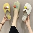 包頭半拖鞋女夏季2020新款時尚魚嘴涼拖平底可濕水網紅涼拖ins潮
