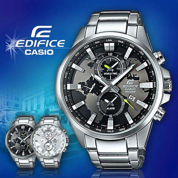 CASIO 卡西歐 手錶 專賣店 CASIO EDIFICE EFR-303D-1A 男錶 黑 指針錶