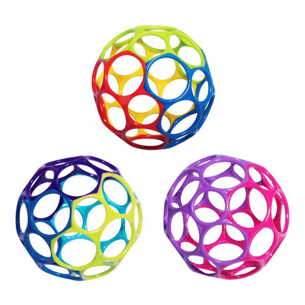 【愛吾兒】KIDS II Oball/O-ball 4吋洞動球經典色