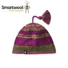 【美國 SmartWool 夢幻仙境小圓帽 《紫莓/綠》】SW010436/保暖針織帽/毛線帽/羊毛帽