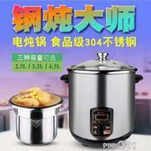 萬宇110V電燉盅電燉燉鍋煲110V飯煲湯煲燉湯鍋外國專用110V養生鍋  【PinkQ】