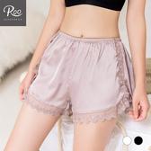 女內搭安全褲。ROO內褲。女蕾絲緞面內搭安全褲 睡褲 防走光 8886-002
