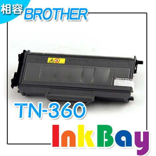 BROTHER TN-360 環保相容碳粉匣(黑色)一支【適用】 DCP-7030/DCP-7040/HL-2140/HL-2170W/MFC-7340/MFC-7440N/MFC-7840W