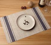 4片裝餐墊隔熱墊歐式西餐墊防燙餐桌墊日式PVC杯墊碗墊餐盤墊餐布      西城故事