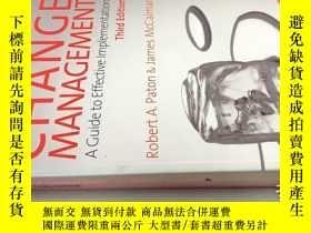 二手書博民逛書店CHANGE罕見MANAGEMENTY20113 請見圖 請見圖