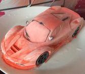 3D立體卡通冰激凌慕斯蛋糕模具跑車造型硅膠膜小汽車烘焙模 英雄聯盟