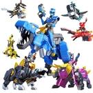 迷你特工隊超級恐龍力量機甲變形機器人合體...