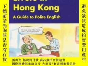 二手書博民逛書店Common罕見Social English Errors In Hong KongY364682 David