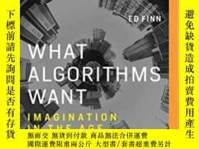 二手書博民逛書店What罕見Algorithms WantY256260 Ed Finn Brilliance Audio