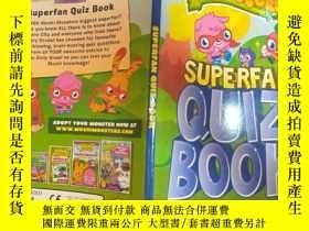 二手書博民逛書店superman罕見quiz book:超人智力競賽書Y200392