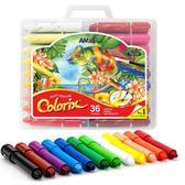 旋轉蠟筆12色/24色 寶寶水溶性油畫棒 兒童繪畫筆