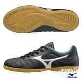 美津濃 MIZUNO 兒童足球鞋 REBULA V3 Jr IN  (黑銀) 室內足球鞋 P1GG178503【 胖媛的店 】