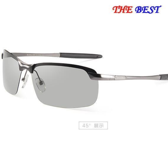 太陽眼鏡 日夜兩用 偏光變色眼鏡 駕駛 太陽鏡 墨鏡防紫外線