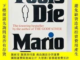 二手書博民逛書店Fools罕見Die: A Thriller 英文原版《愚人之死