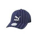 Puma 深藍色 帽子 運動帽 老帽 遮陽帽 六分割帽 經典棒球帽 運動帽 02255409