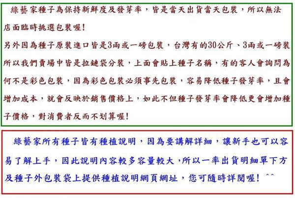 【綠藝家】大包裝B21巨無霸青花椰菜種子3克